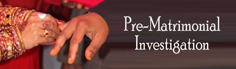 Private Detective for Pre Matrimonial Investigation